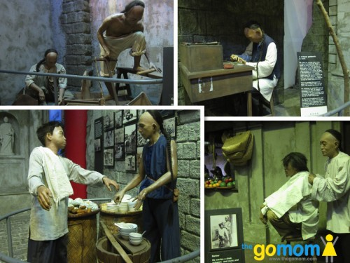 Bahay Tsinoy Life Sized Exhibit of Early Chinese Occupations