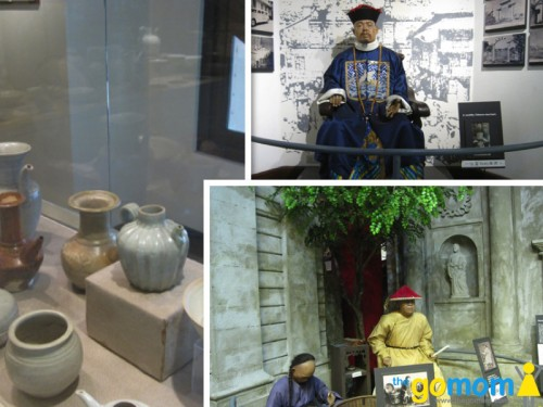 Ching Ban Lee Porcelain Gallery and Life Size Exhibit of the Early Chinese at Bahay Tsinoy