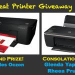 HP Printer Giveaway Results at TheGoMom