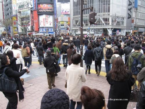 Hachiko Exit in Shibuya Station