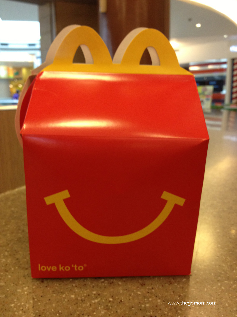 Yay! Remember the time when the Mcdonald's Happy Meal came in a box