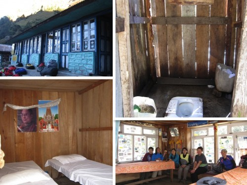 Accommodations in Langtang Valley