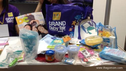 Grand Baby Fair Freebie Bag
