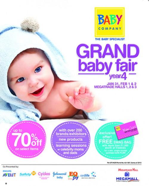 SM Grand Baby Fair Poster