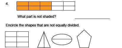 Fractions - Understanding Fractions Worksheet - Grade 2