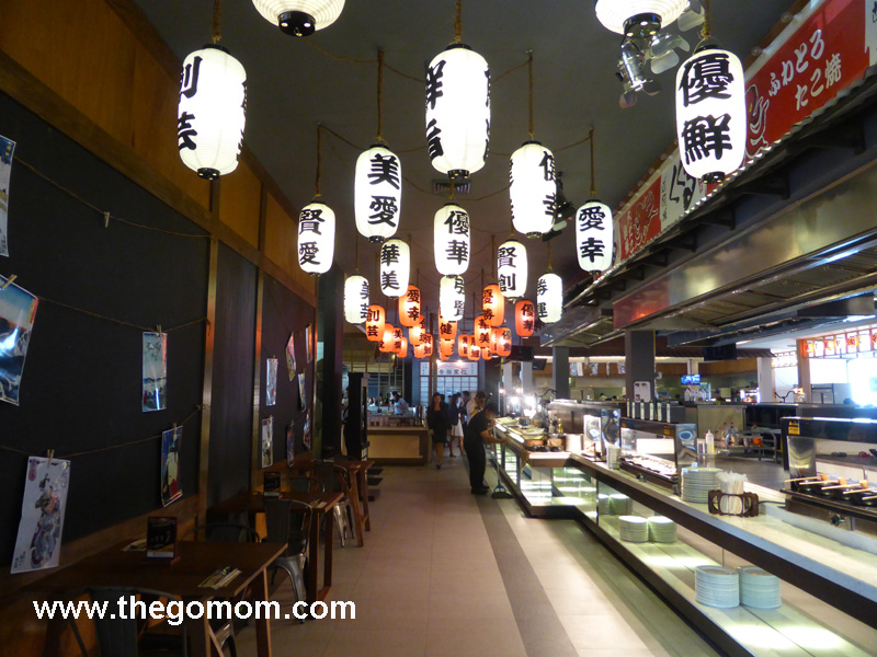 inside banzai sm mall of asia