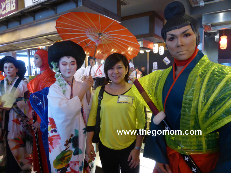 Posing with the Performers of Banzai's Theatrical Production