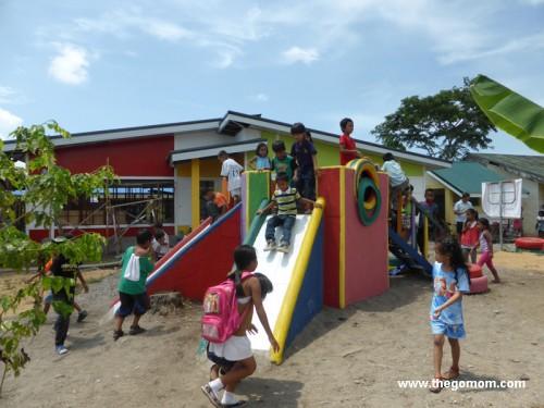 """Johnson and Johnson Tacloban Playground """"Di lang Laro ang Laro"""""""