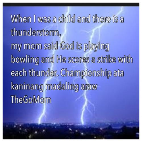 thunderstorm quote