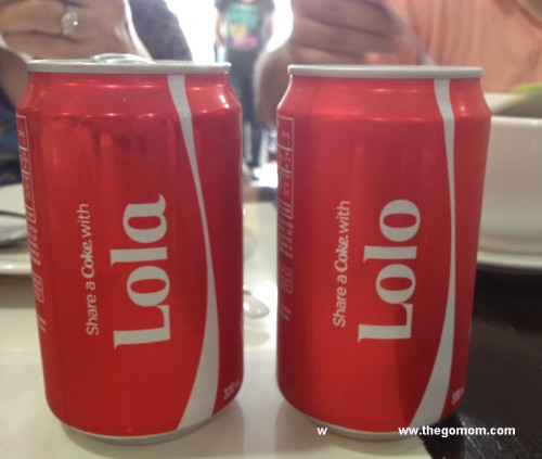 Lolo and Lola Share a Coke