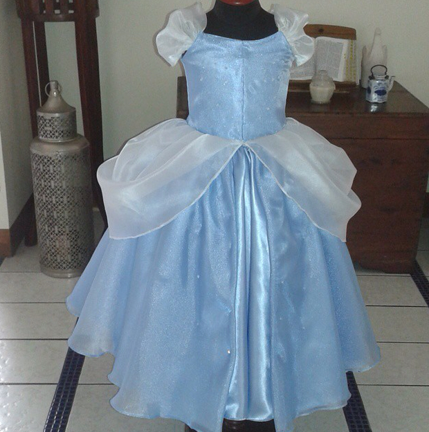 Cinderella inspired costume by  The Pumpkin Store
