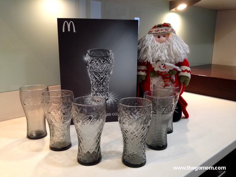 Coca Cola Glass Collection 2014 with Mcdonald's Philippines