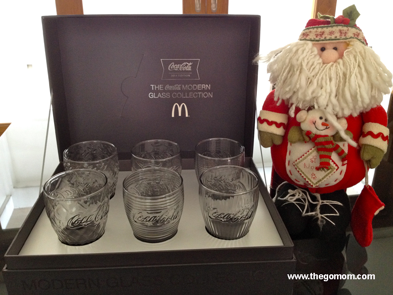Coke Glass Collection 2014,