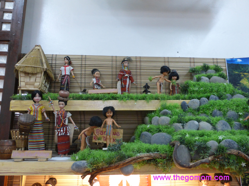 Dolls in Philippine Native Costumes