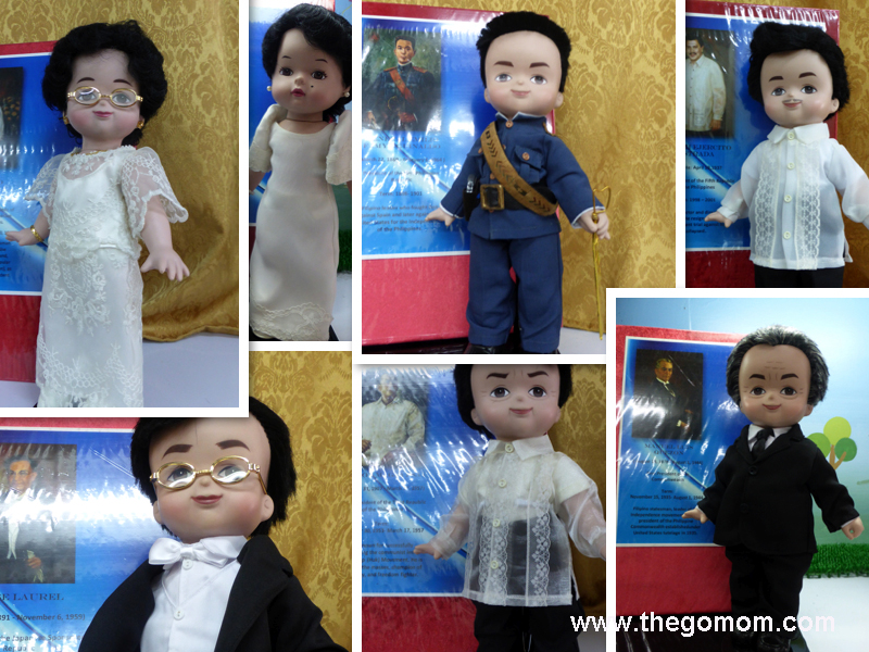 Philippine Presidents Dolls