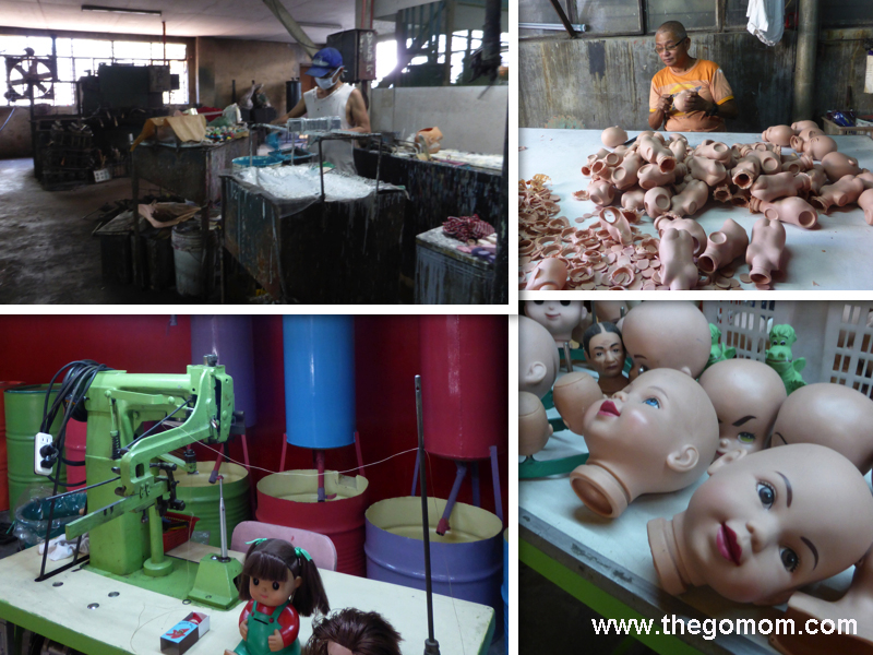doll making process