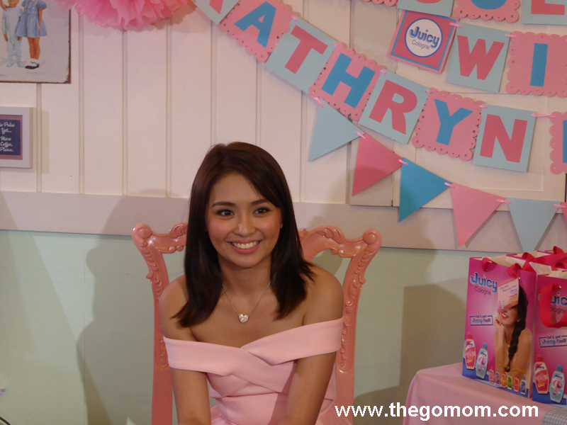 Kathryn Bernardo Juicy Cologne Ambassador