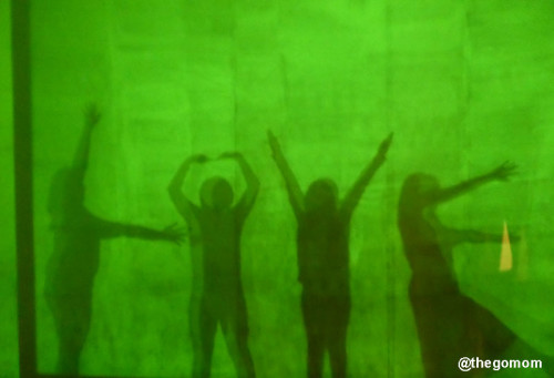 We had super fun at the Shadow Box doing all sorts of shadows.  Here we spelled L-O-V-E!:-)