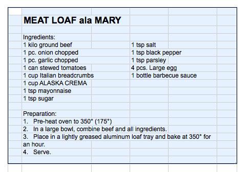 meatloaf recpe