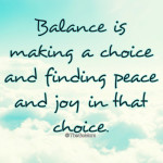 Finding Balance: Can we Moms Achieve it?