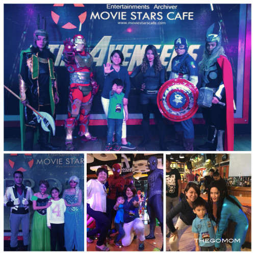 Movie Stars Cafe SM by the Bay MOA