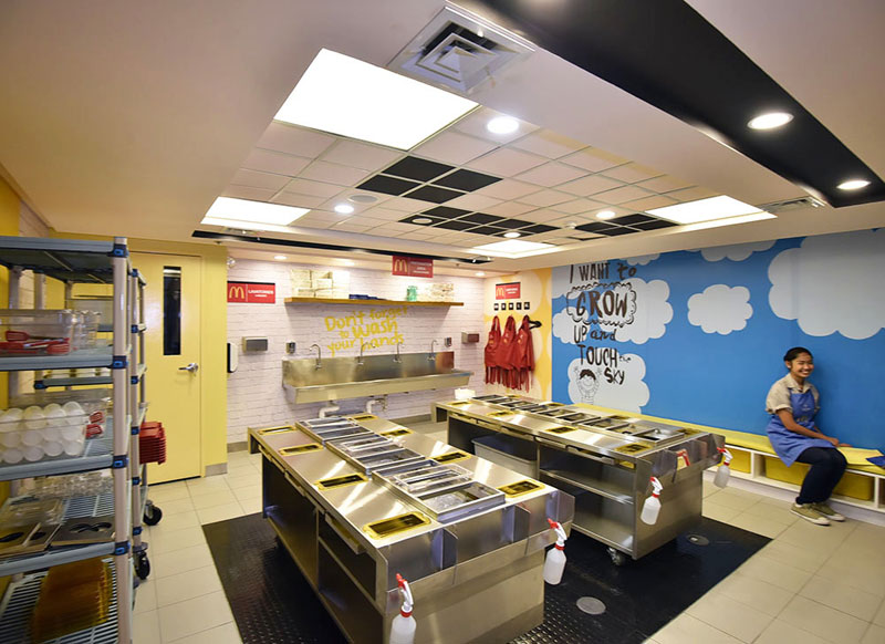 Mcdonalds Burger Shop Kidzania Manila