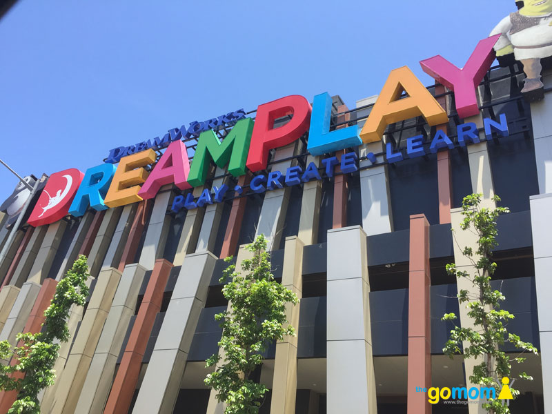 Outside DreamPlay Manila